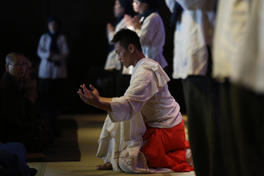 靈鷲山,平安禪,心道法師,張逸軍,寧靜,太陽劇團,菩薩,佛教