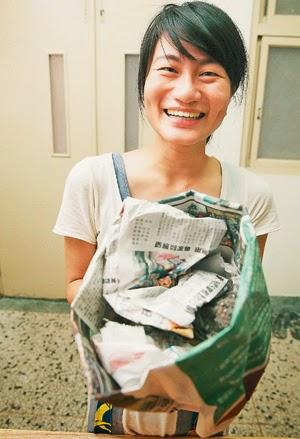 靈鷲山 塑膠袋 洪平珊 無塑生活 環保